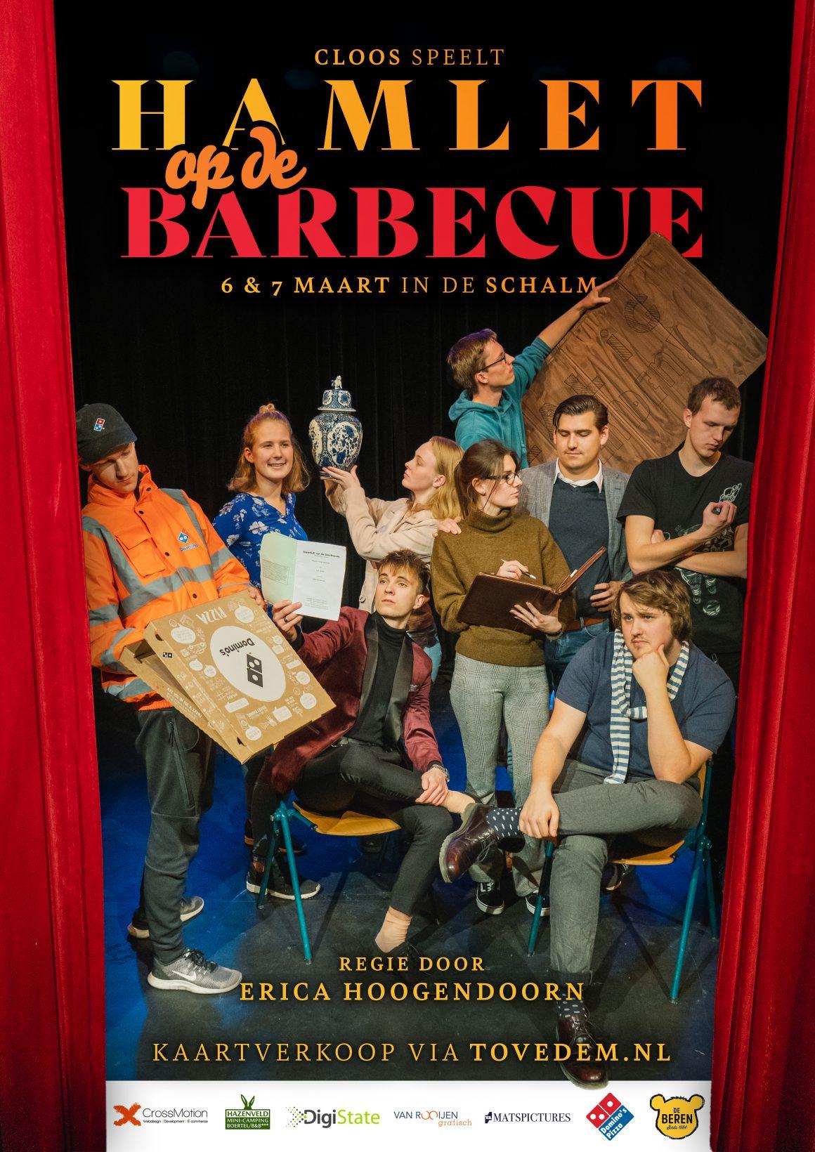 Hamlet op de barbecue